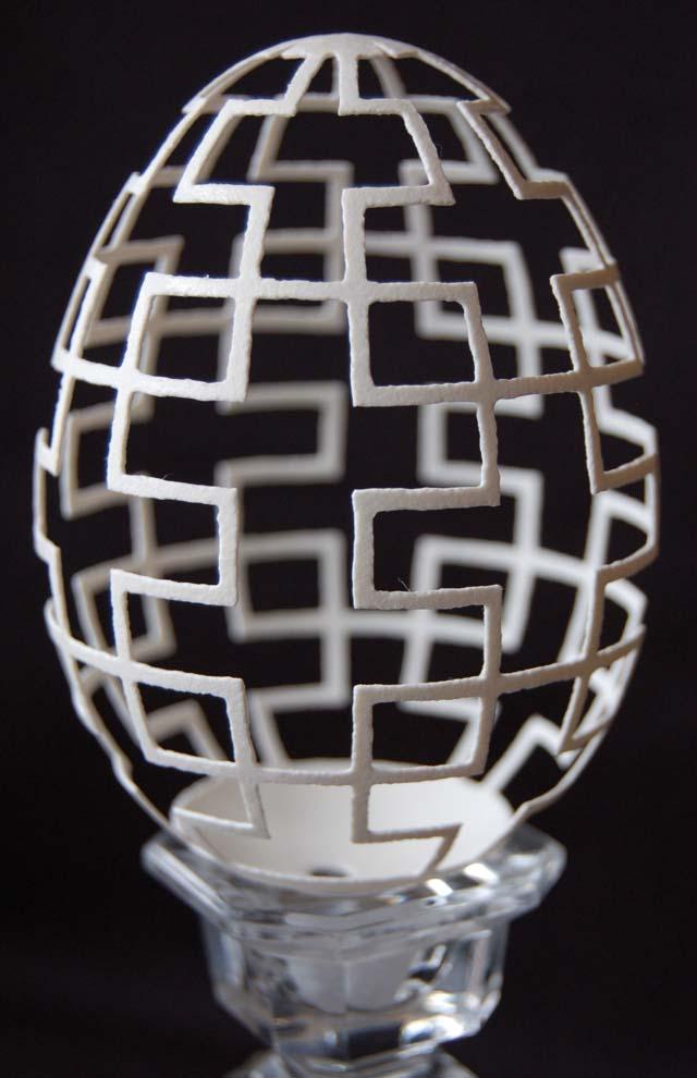 Carved Eggshell