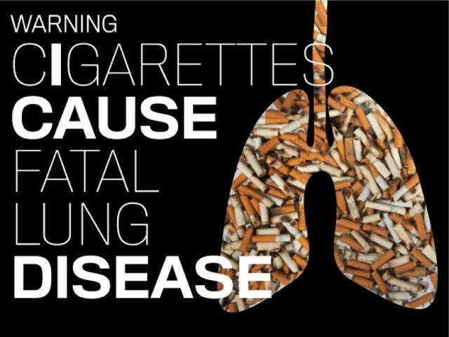 Cigarette Warning Label