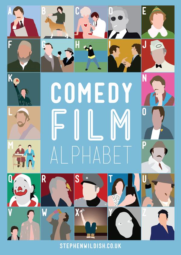 Comedy Film Alphabet