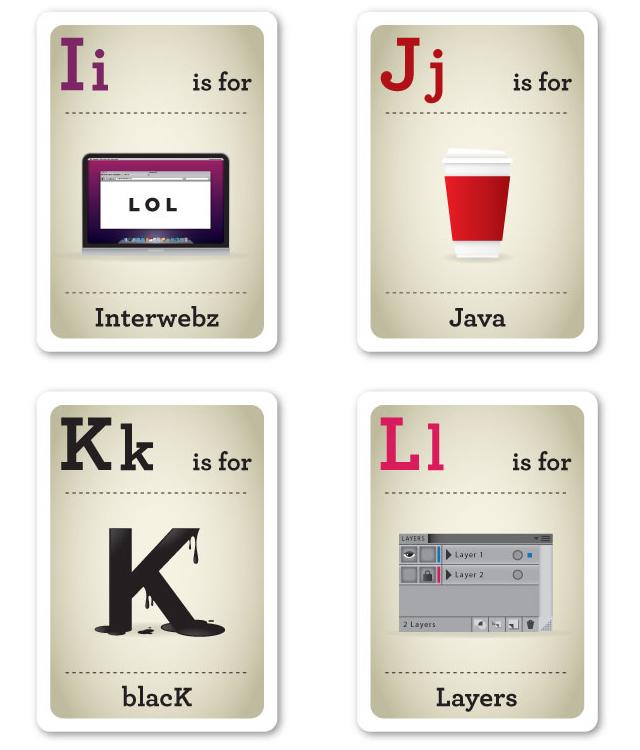 Design Nerd Flash Cards I-L by Emma Cook