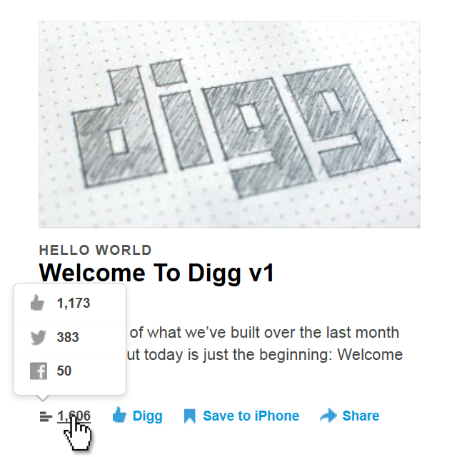 Digg.com Relaunch