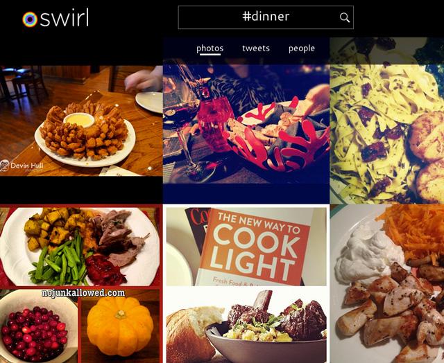 Swirl photo app