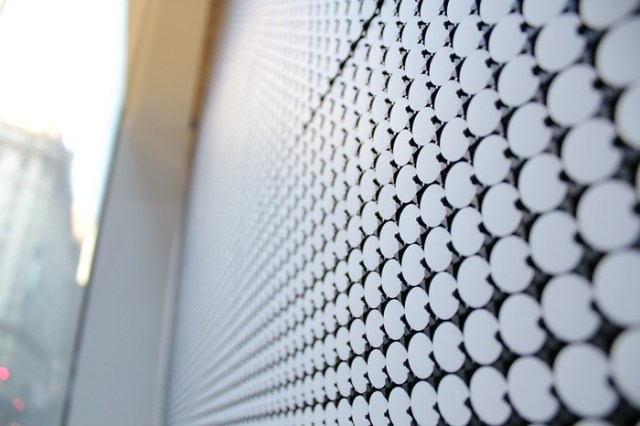Interactive Dot Matrix Display by Breakfast