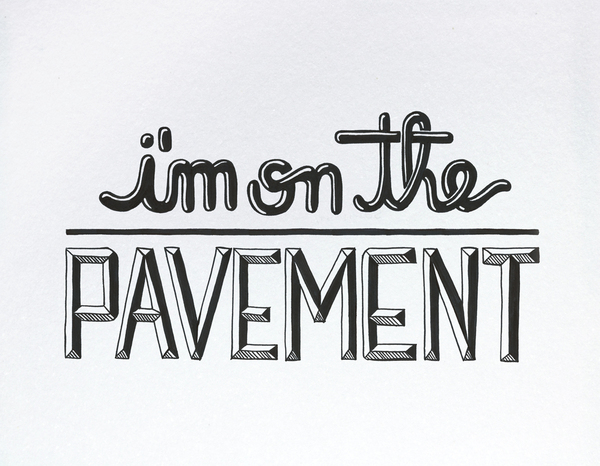 Hand Lettered Video for Bob Dylan Subterranean Homesick Blues