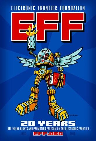 EFF Celebrates 20 Years