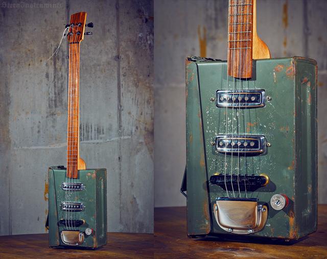 Electric Ammo Box Guitar