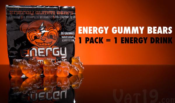 Energy Gummy Bears