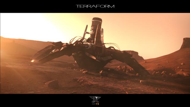 Terraform from ArtFx