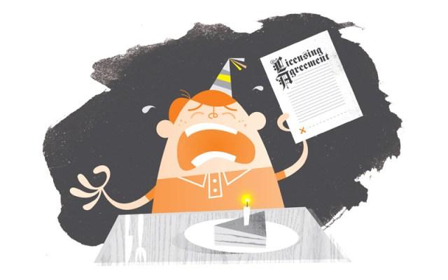 FMA New Birthday Song contest illustration by Greg Harrison