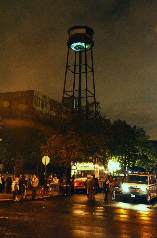 CCTV/Creative Control, a Giant Eye over Brooklyn by Marcos Zotes