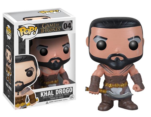 Game of Thrones Khal Drogo Pop! Vinyl Figure