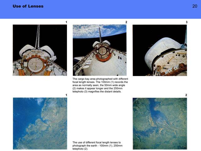 Hasseblad Astronaut Photography Manual
