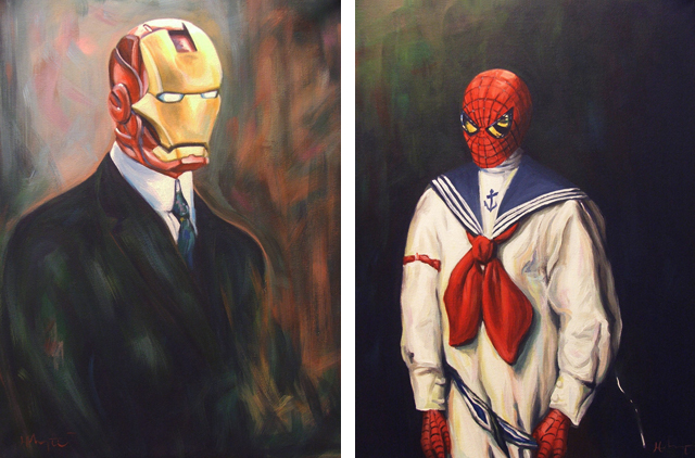 Iron Man and Spider Sailor