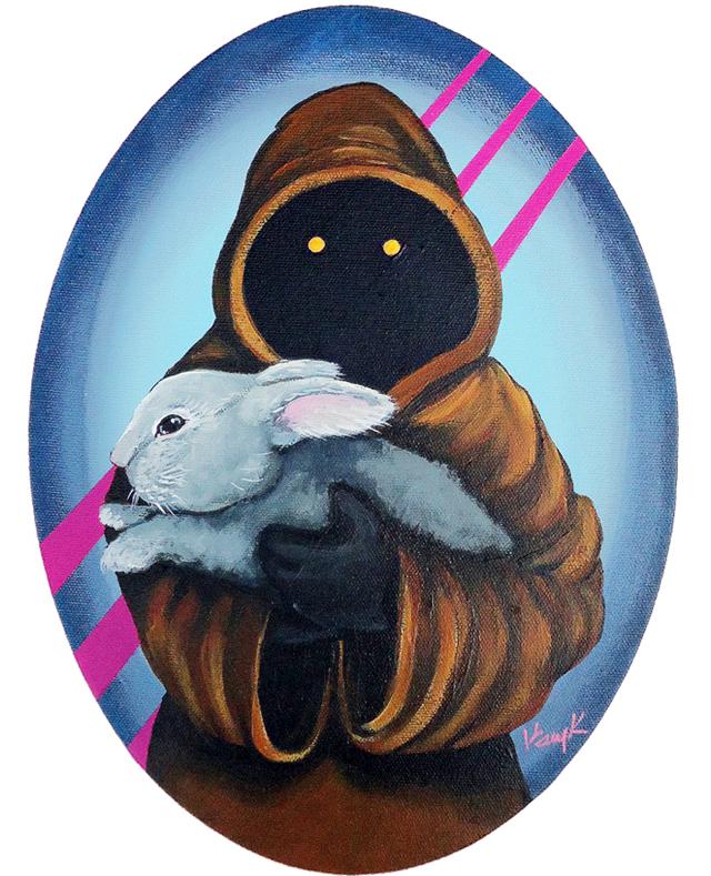Jawa with Bunny by Kelly Kerrigan