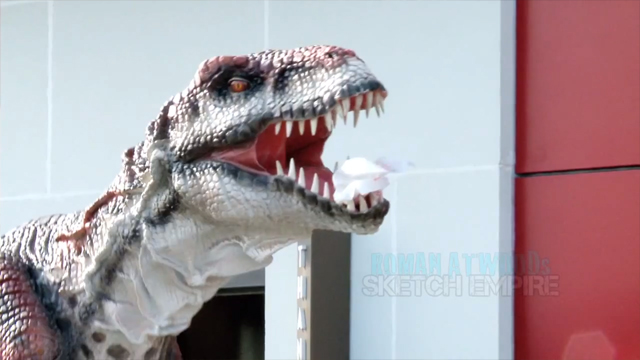 Jurassic Prank by Roman Atwood and Dennis Roady of Sketch Empire