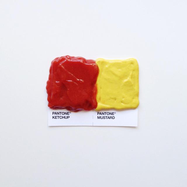 ketchup mustard