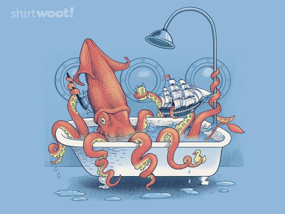 Kraken Bathtime