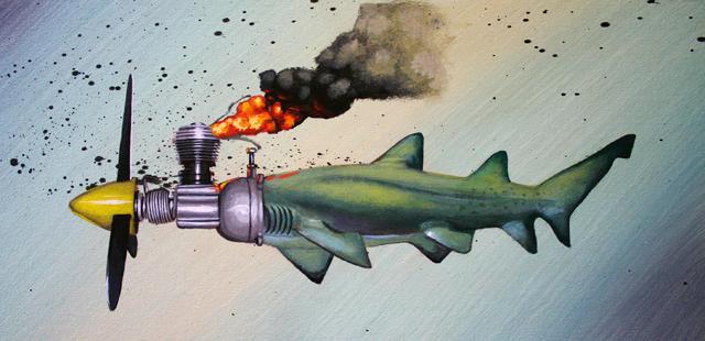 Lucky Strike #7 Reef Baby by Robert Bowen