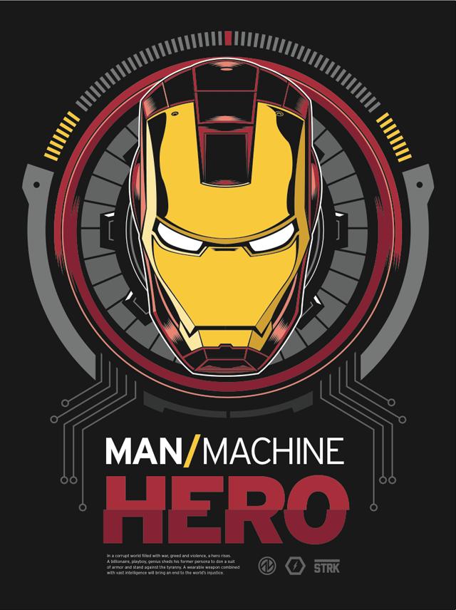 ManMachineHero CLASSIC by Adam Limbert