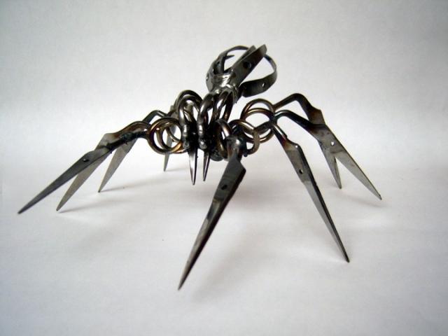 Scissor Spiders by Christopher Locke