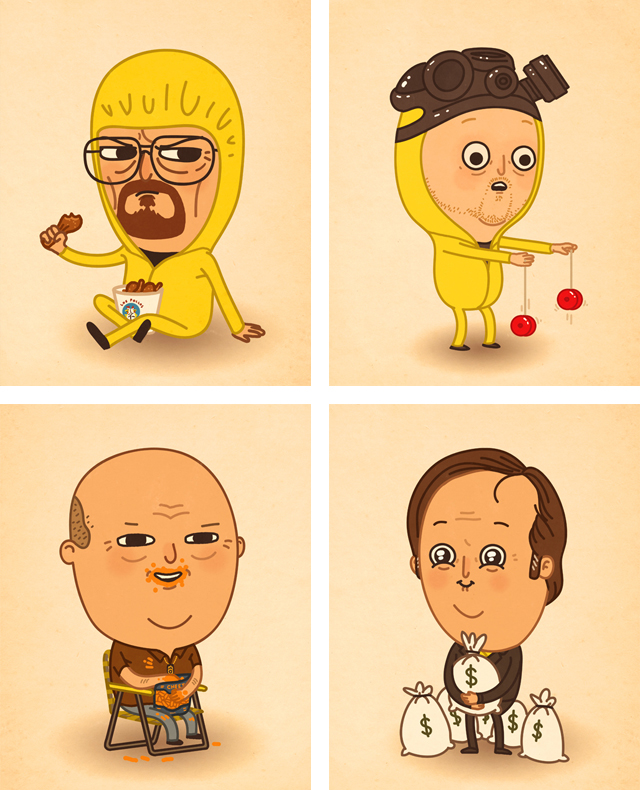 Breaking Bad Artwork by Mike Mitchell