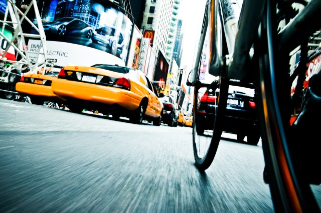 NYC by Bike by Tom Olesnevich