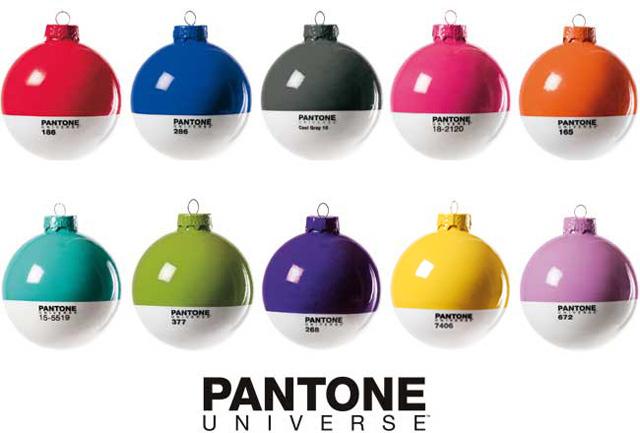 Pantone Xmas Balls