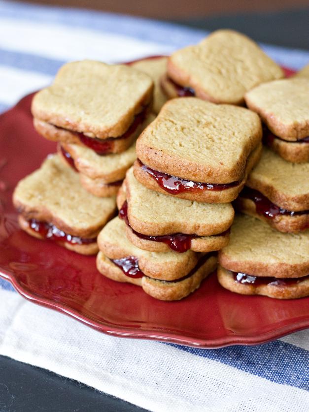 PBJ Cookie Sandwiches
