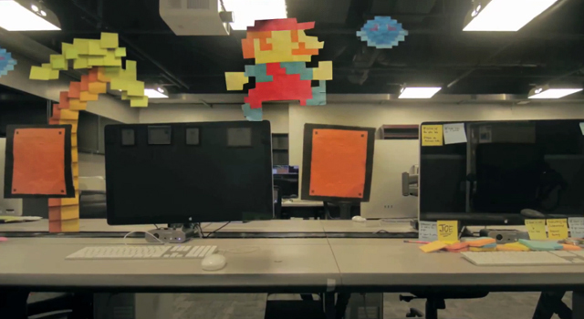 Mario - Post It Life by Zach King (Final Cut King)