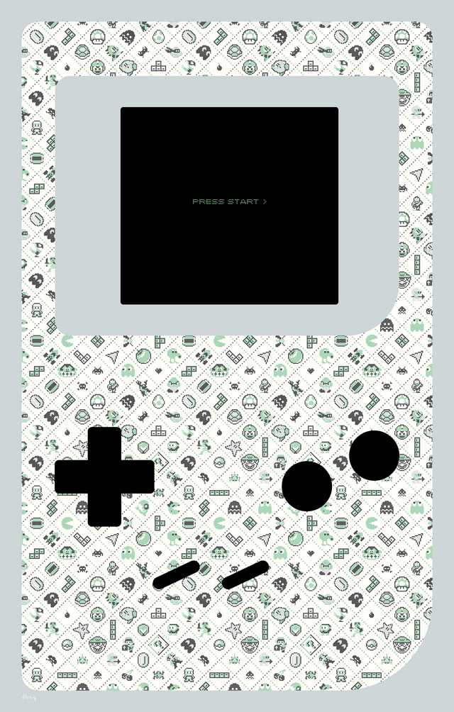 Press Start art print by DKNG Studios