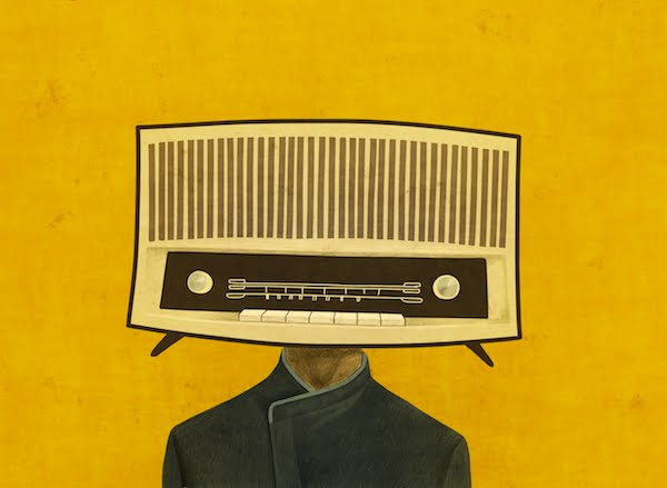 Face/Radio #03 by Toni Demuro