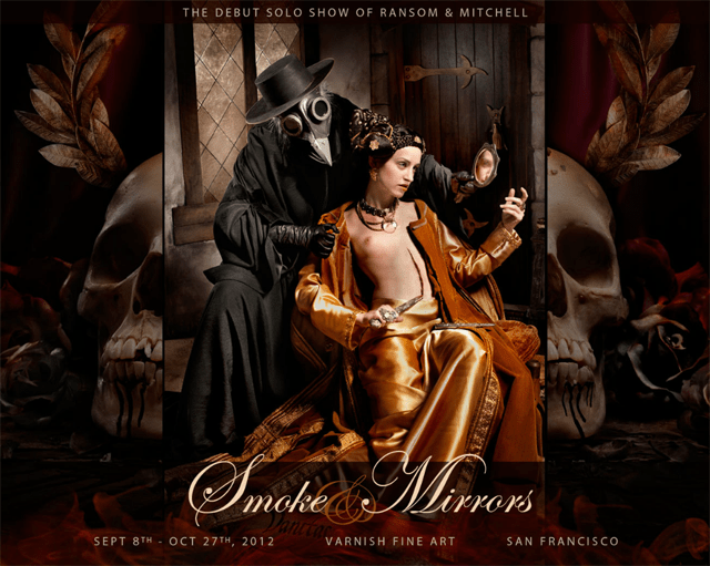 """Ransom & Mitchell's Solo Debut """"Smoke & Mirrors"""" at Varnish Fine Art"""