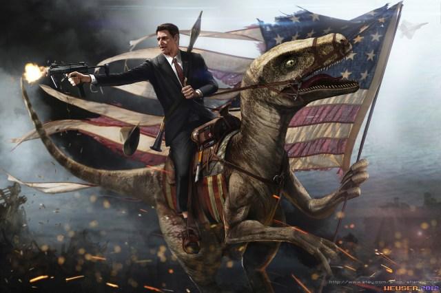 Reagan Riding Velocirator