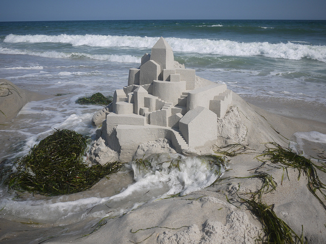 geometric sandcastle