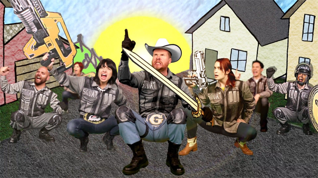 Scary Smash featuring Dave Foley, Joss Whedon & Kate Micucci