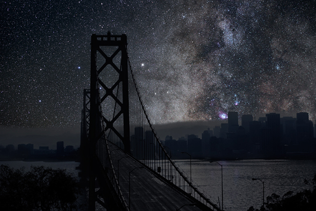 Darkened Cities by Thierry Cohen (San Francisco)