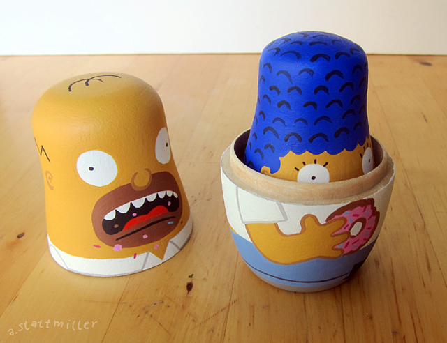 Simpsons Nesting Dolls