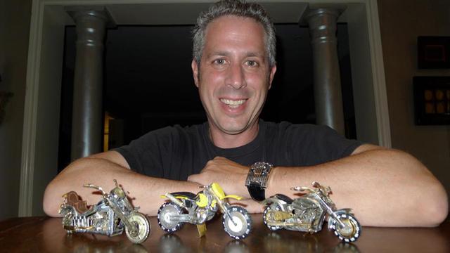 Dan and his bikes
