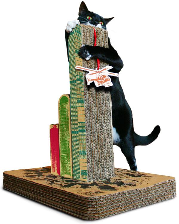 Skyscraper Cat Scratching Post
