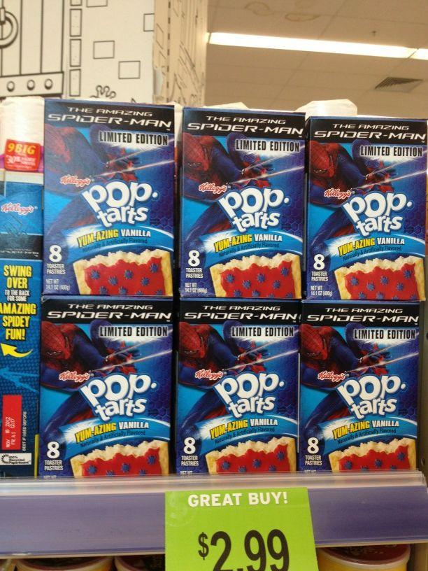 Spider-Man Pop-Tarts