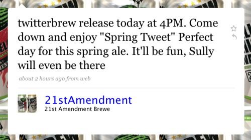Spring Tweet