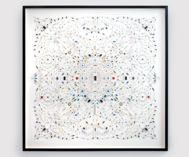 Technological mandala series by Leonardo Ulian