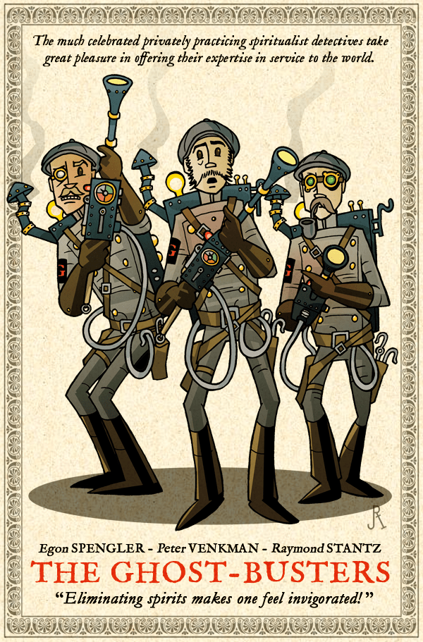 The Ghost-Busters by DrFaustusAU