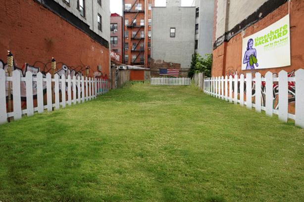 Timeshare Backyard
