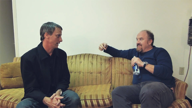 Tony Hawk Interviews Louis C.K. about Dane Cook, Reddit, Louie