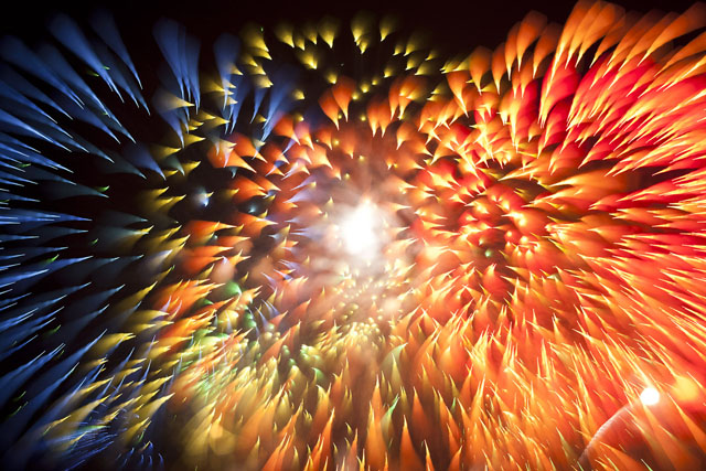 Fireworks photos by David Johnson