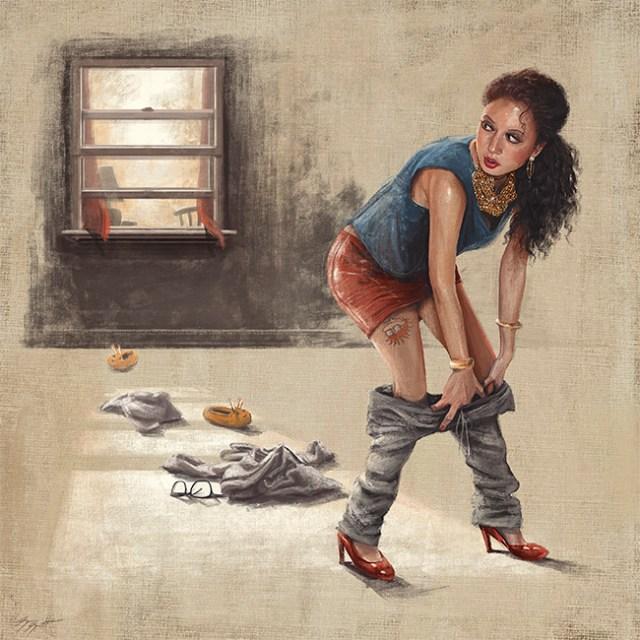 Girls Night - For Childish Gambino by Sam Spratt