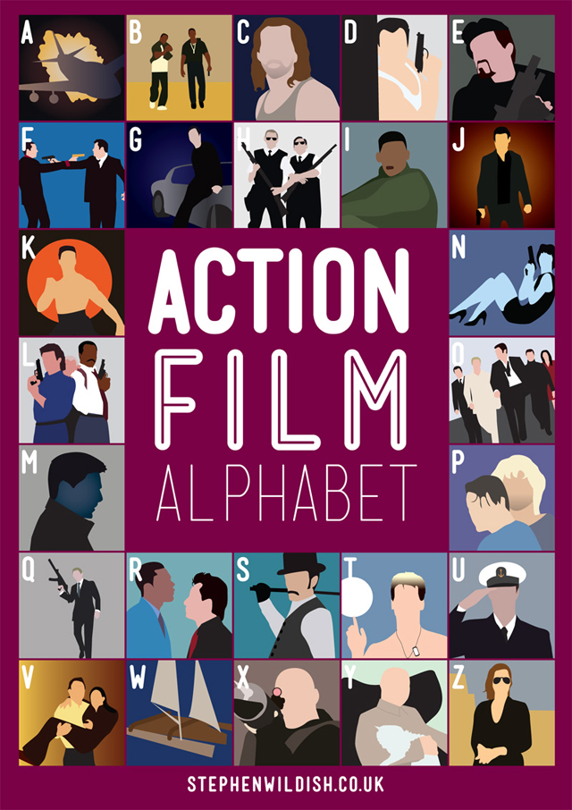 Action Film Alphabet