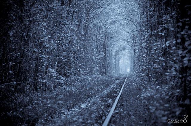 Tunnel of love photos by Oleg Gordienko