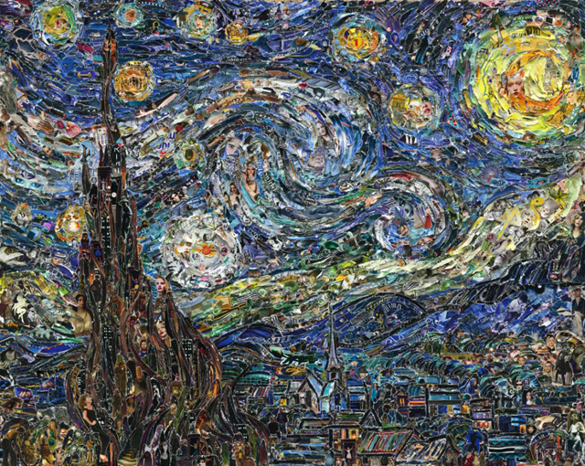 Starry Night, after Van Gogh (Pictures of Magazine 2)